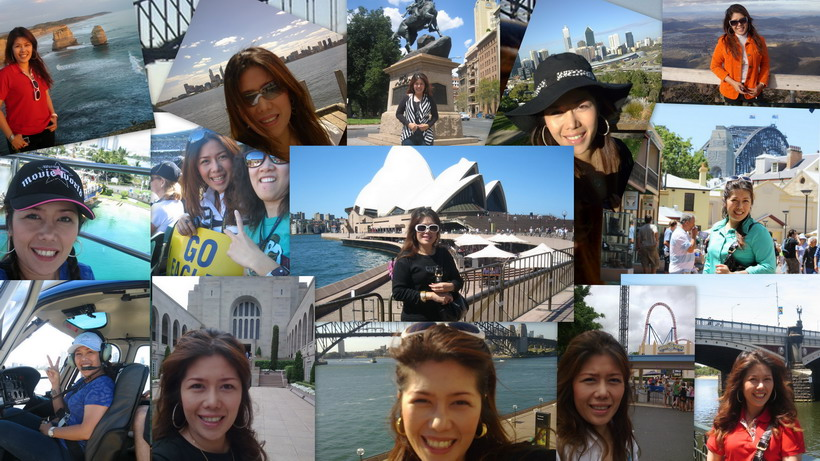 Angella around Australia