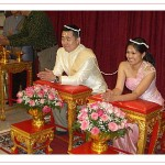 Traditional Thai marriage ceremony