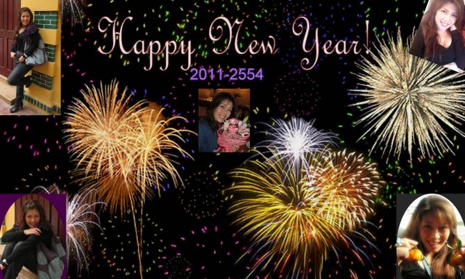 Angella Happy New Year 2011 from Thai Girlfriend Advisor